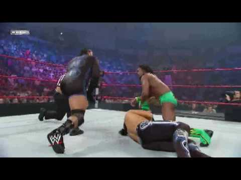 Wwe Superstars 6 25 09 Matt Hardy Vs Mvp Vs Kofi Kingston For Us Championship 1 2 Hd 720p video