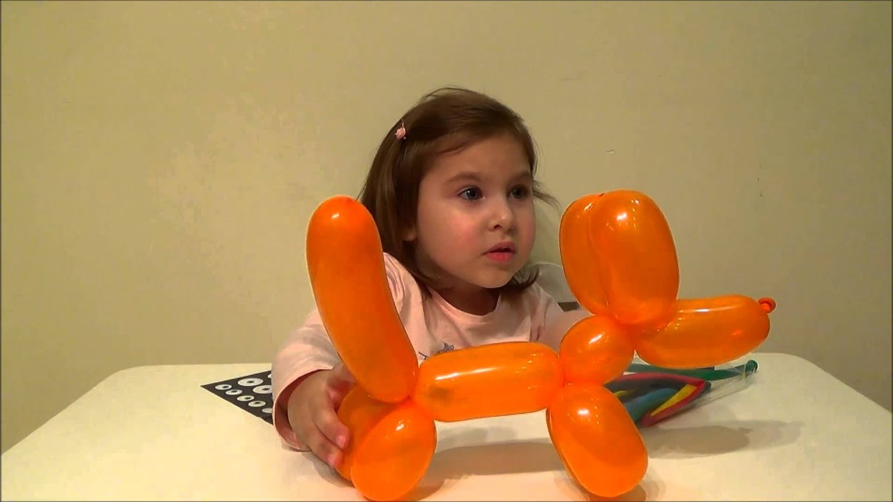 Как сделать из надувного шара