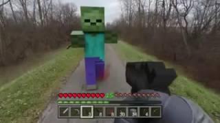 Minecraft PE BẮN SÚNG Ở CUỘC ĐỜI THỰC TẾ