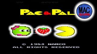 How to play PAC & PAL (PAC MAN Plus): PAC MAN 35th Anniversary Plug and Play