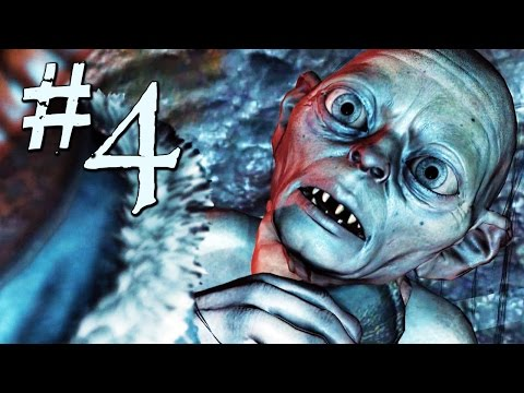 Shadow of Mordor Gameplay Walkthrough Part 4 - Tracking Gollum