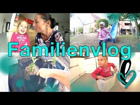 Familienvlog | immer auf Achse | Fortschritte im Garten | Lumelowu