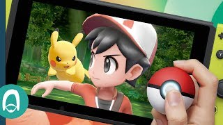 Hands On with Pokémon: Let's Go & The Poké Ball Plus for Nintendo Switch