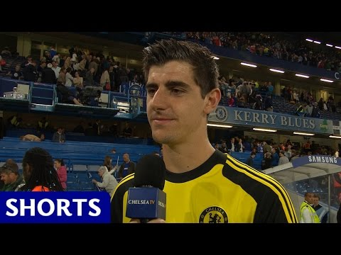 Courtois: Great to play at the Bridge