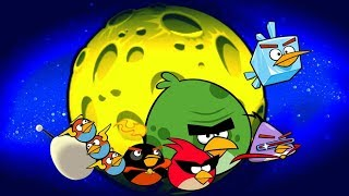 ✔ Angry Birds Space gameplay- planet 1 - Shooting Game