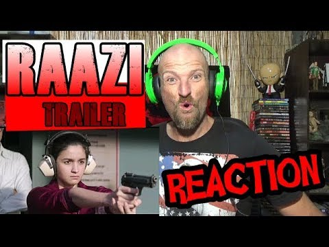 RAAZI - Official Trailer REACTION thumbnail