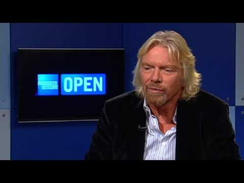 Richard Branson: learning from failure.