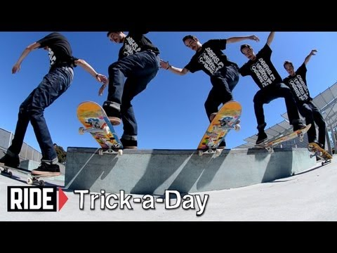 How-To Backside Noseslide With Caswell Berry - Trick-a-Day