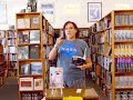 "Janet Kuypers' ""Forbidden"" cc&d poems @ her Half Price Books reading 10/4/17 (Lumix)."