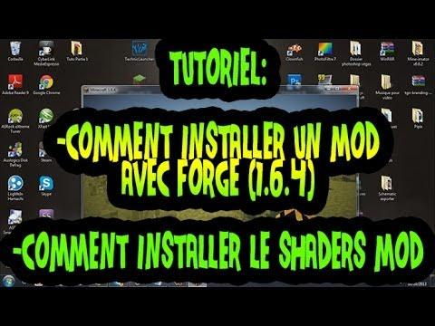 TUTO|Comment installer un mod avec Forge(1.6.4)sur