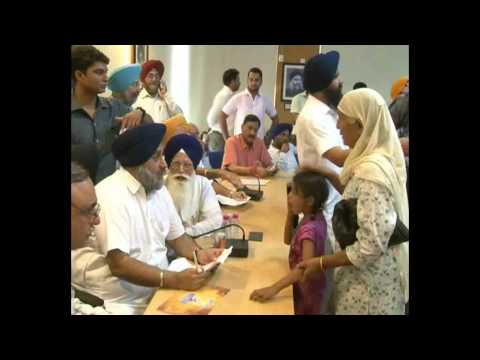 IMPRESSIVE RESPONSE TO UNIQUE GRIEVANCES HEARING MOVE OF SUKHBIR...