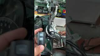 Cách nhập điều khiển trên xe PCX 2011