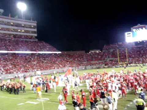 NC State vs #3 Florida State- Oct. 6- 2012- Game- Winning Drive & Post-Game Celebrations
