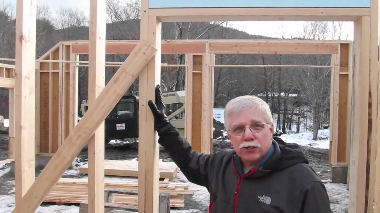 Framing a door youtube for 12 foot garage door rough opening