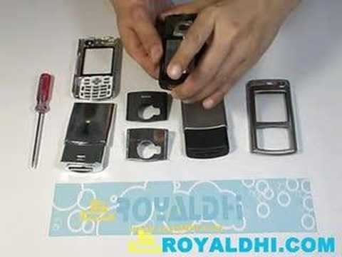 How to install Nokia N70 Phone Front Back Housing?