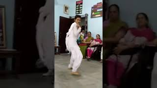 School girl dance