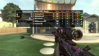 COD Black Ops 2-(2v2 Quickscope Clan battle)