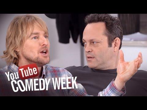 Owen Wilson & Vince Vaughn - The Big Live Comedy Show Highlights - YouTube Comedy Week