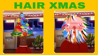 Hair Xmas - Mery Christmas!!! Hair Salon Kids Games