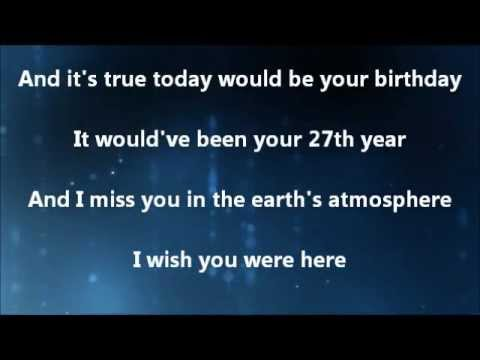 Delta Goodrem Wish You Were Here Lyrics