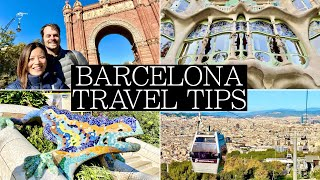 14 Things to know BEFORE visiting BARCELONA | Guide and Tips