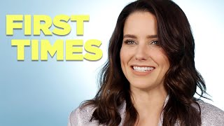 Sophia Bush Tells Us About Her Firsts
