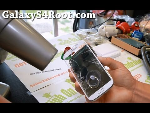 How to Replace Screen Glass Only on Galaxy S4! Music Videos