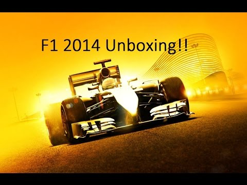 F1 2014 Unboxing