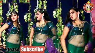 Village drama dance transparent saree show aunty