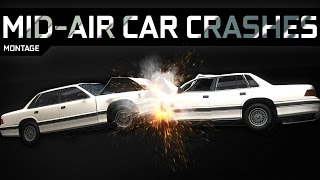 MID-AIR CAR CRASHES - BeamNG.Drive [HD - 60FPS]