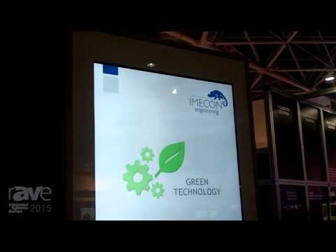 ISE 2015: IMECON Offers Ventuno.08 Outdoor Totem