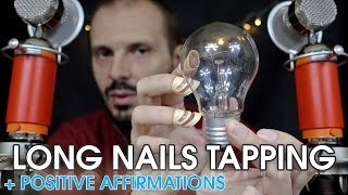 Long Nails Tapping Relaxing Session with ASMRtist