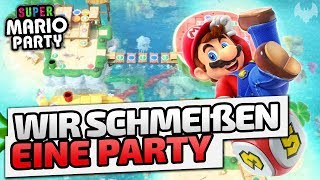 Wir schmeißen eine Party - ♠ Super Mario Party #001 ♠ - Nintendo Switch - Dhalucard