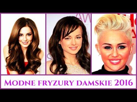 Modne Fryzury Damskie 2016