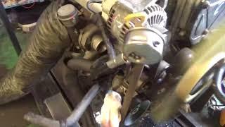 Проверка давления масла в двигателе D4CB 5858182 Euro IV Sorento 170 л.с. 2006-2008 SUB
