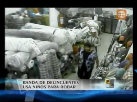 Niños ladrones en Gamarra - Prensa Libre 04/2011