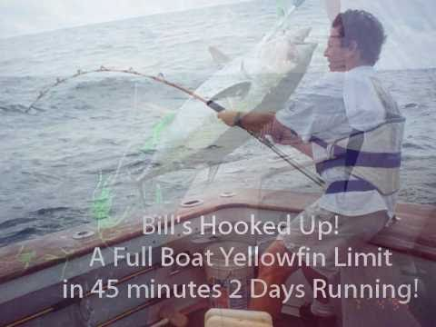 Canyon Big Game Fishing - June Bug Sportfishing From Beach Haven - NJ.wmv