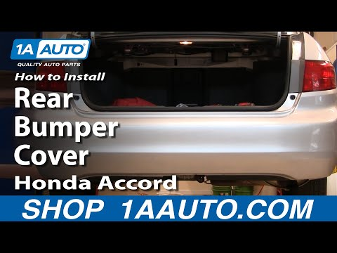 How To Install Replace Rear Bumper Cover Honda Accord 04-07 1AAuto.com