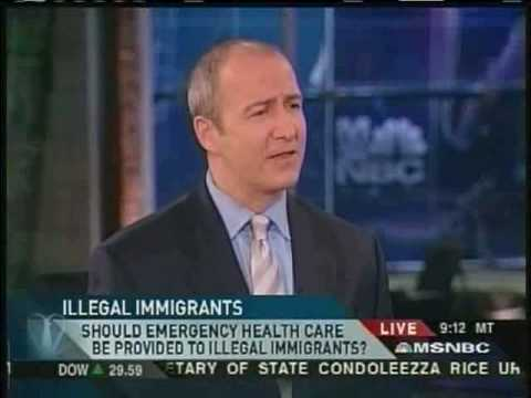 MSNBC: Do Illegal Immigrants Deserve Emergency Medical Care?