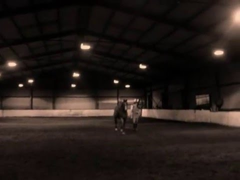A Girl And Her Horse! video