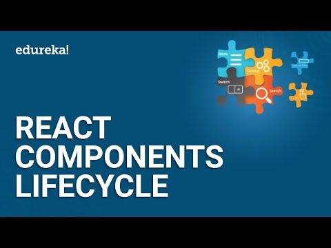 React Components Lifecycle   React Tutorial for Beginners   ReactJS Training   Edureka