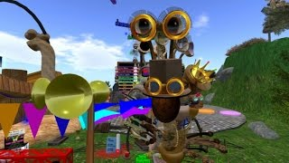 Giant snail race 412 16 Mar 5 Steampunk