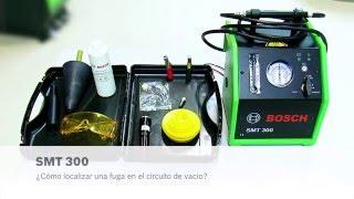 Detectar una fuga en el circuito de vacío con el SMT 300 de Bosch
