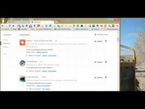 Adding Webrep To Google Chrome V21.xxx video
