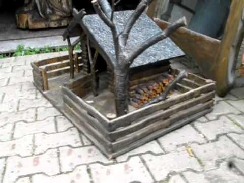 Rzeżby z drewna