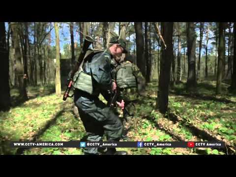 US troops training Ukraine National Guard units