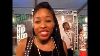 BET Hip Hop Awards 2013: Netta Brielle & Devon Gallaspy