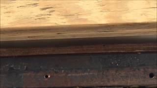 RV rotted wood repair #7