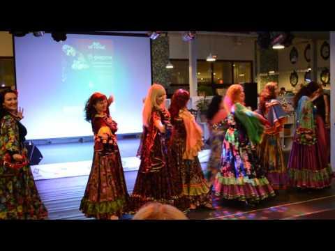 "Цыганский танец ""Кумушка"". Gypsy dance. Школа танцев ""Экспромт"""