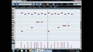 CARA MENULIS MIDI SAMPLING KENDANG BIJIAN MOTIF SUNDA